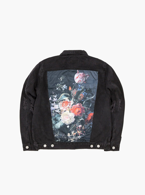 Still Life Denim Jacket in Black (10058420882)