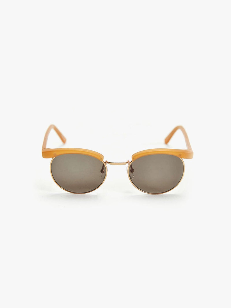 Matte Honey Bold Brow Sunglasses