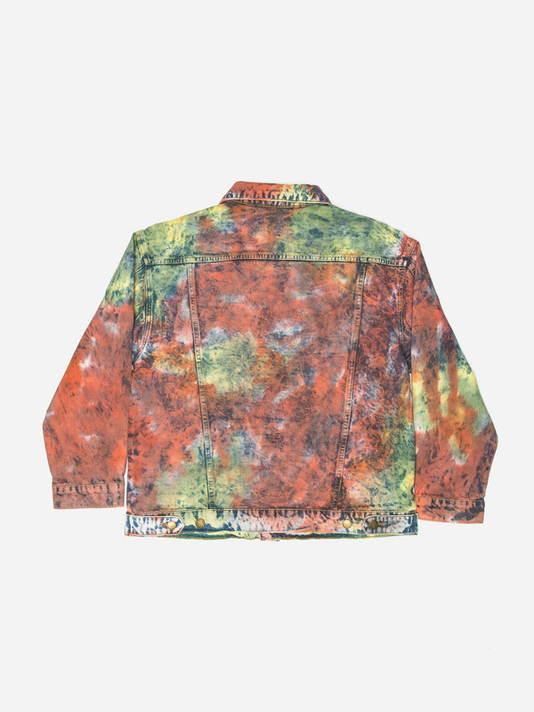 Tie Dye Washed Denim Jacket (4200073494599)
