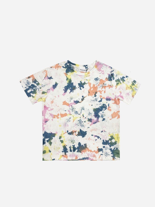 PREORDER | Ink Splatter Tee in Vintage White (4865053425735)
