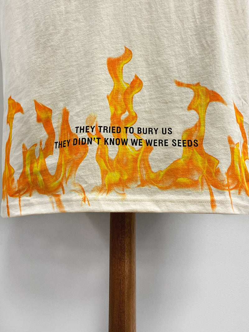 """They Tried To Bury Us"" Tee in Natural (4789627125831)"