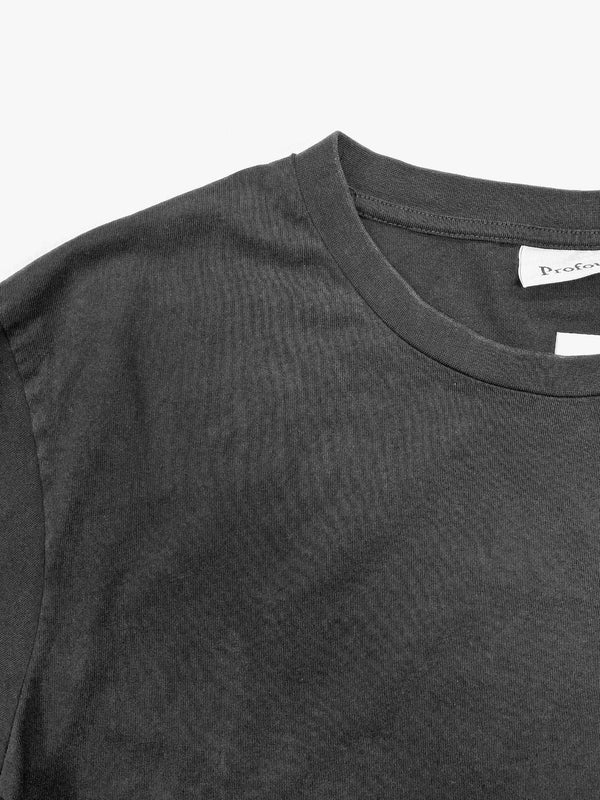 Heavyweight Basic Tee in Vintage Black