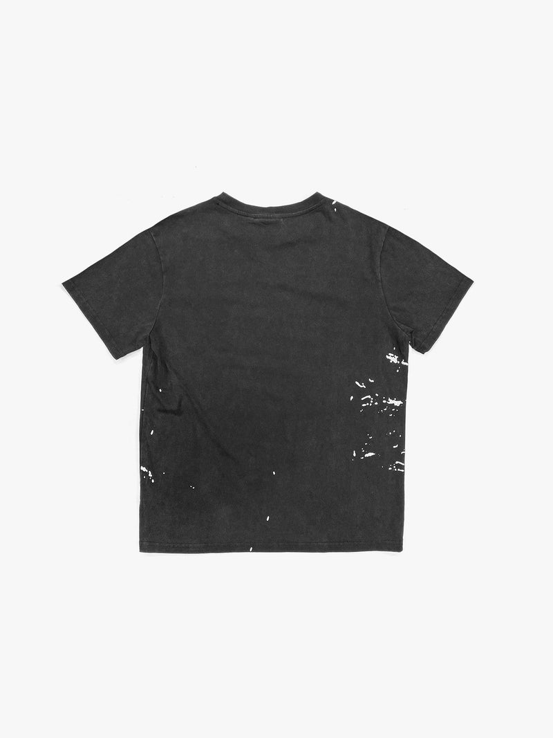 Painters Logo Pocket Tee in Vintage Black