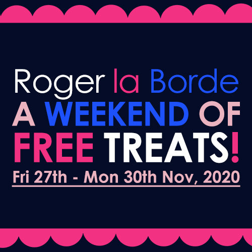 A Weekend of Free Treats for Black Friday!