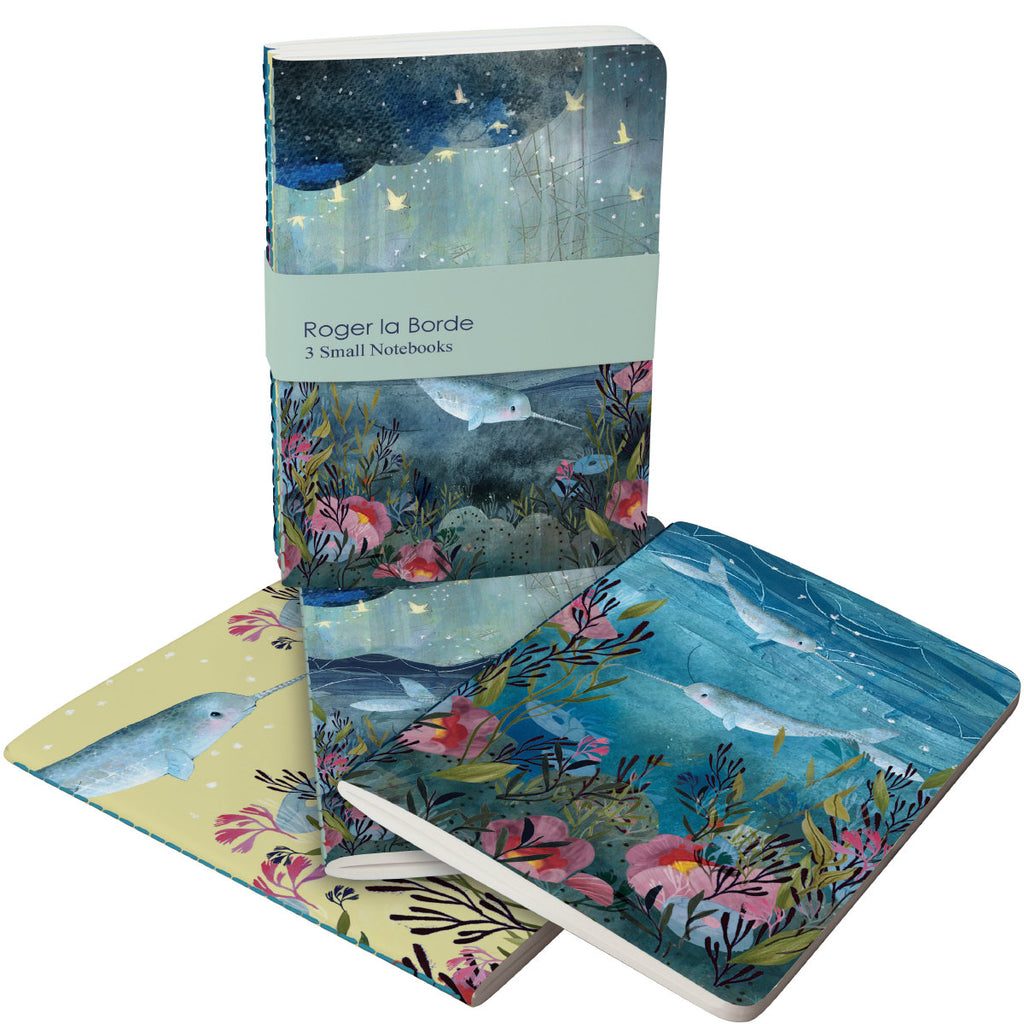 Roger la Borde Sea Dreams A6 Exercise Books Bundle featuring artwork by Kendra Binney