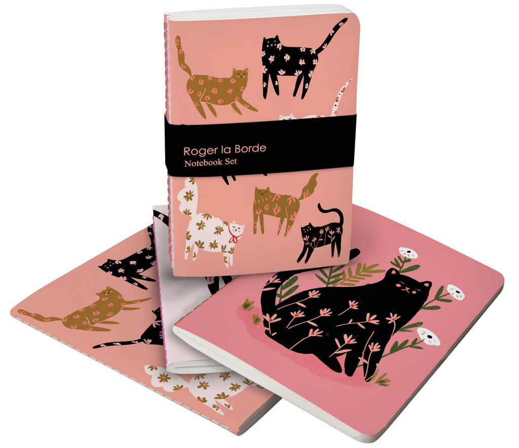 Roger la Borde Cinnamon and Ginger A6 Exercise Books Bundle featuring artwork by Holly Jolley