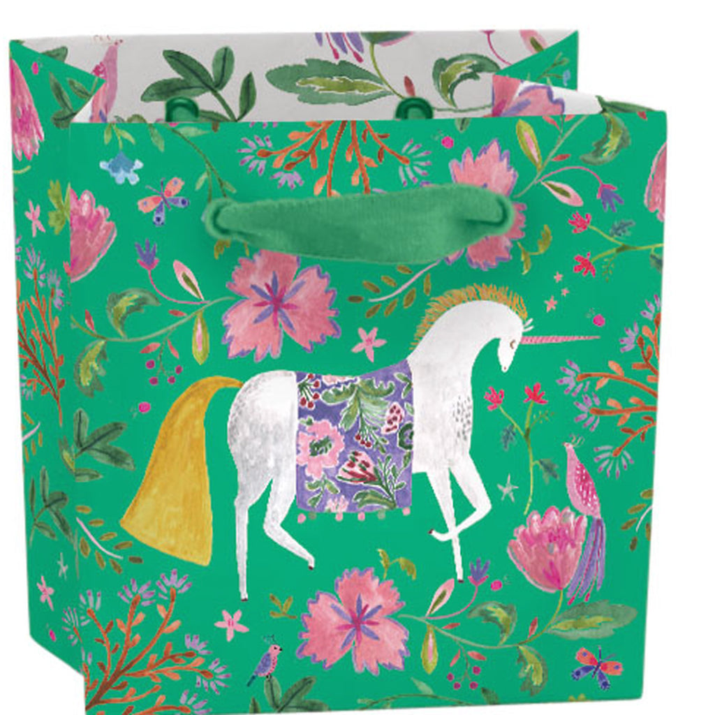 Roger la Borde Over the Rainbow Gift bag : mini featuring artwork by Rosie Harbottle