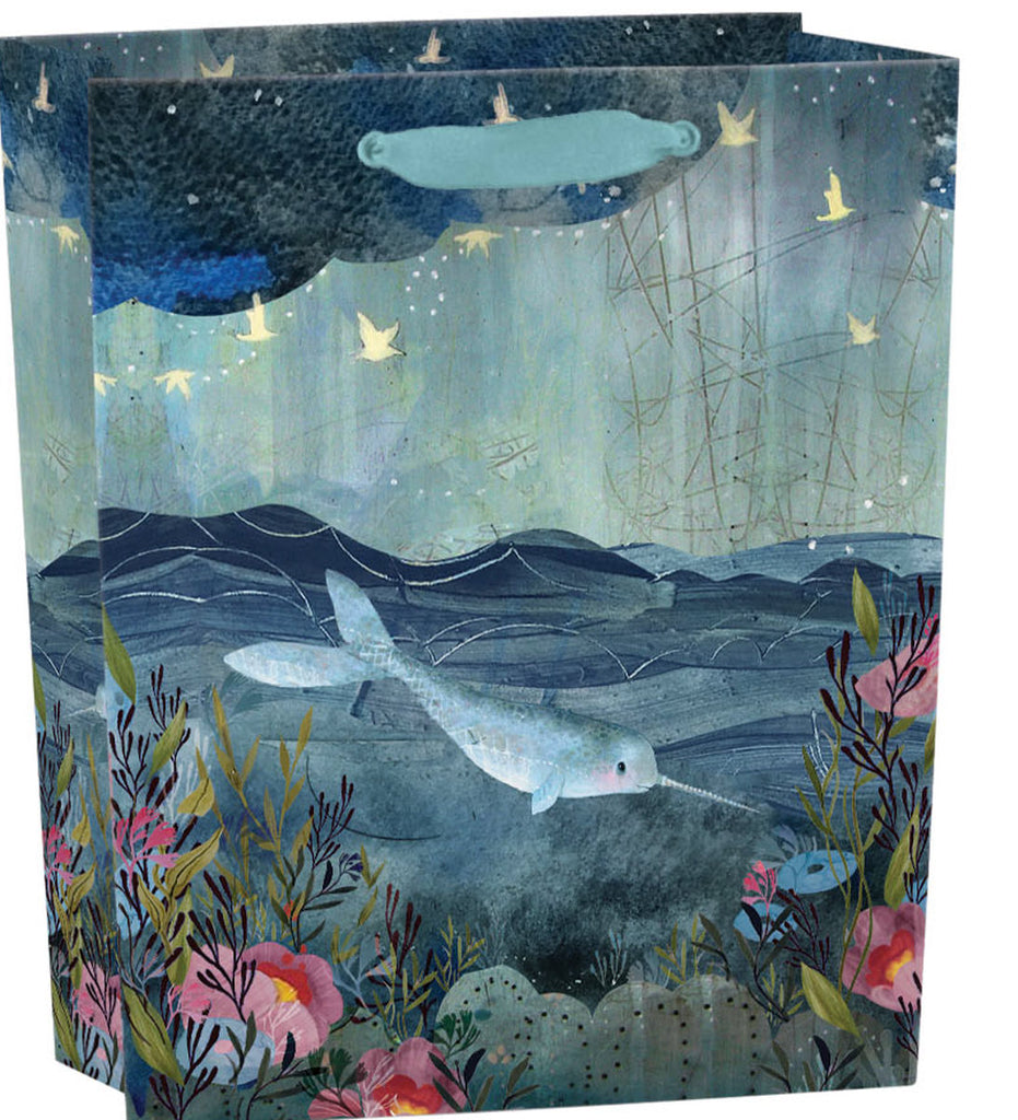 Roger la Borde Sea Dreams Gift bag : small featuring artwork by Kendra Binney