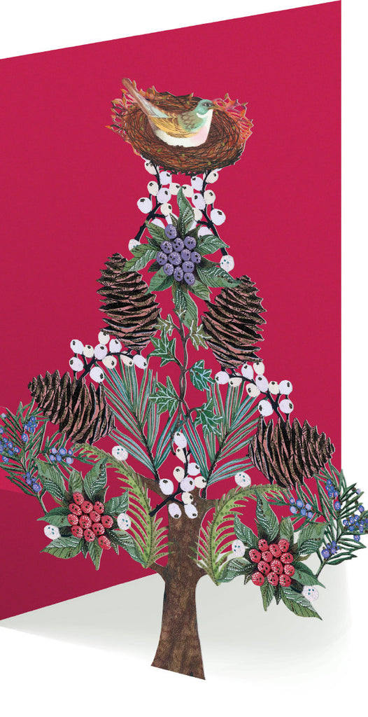 Roger la Borde Call of the Wild Lasercut card featuring artwork by Jane Ray