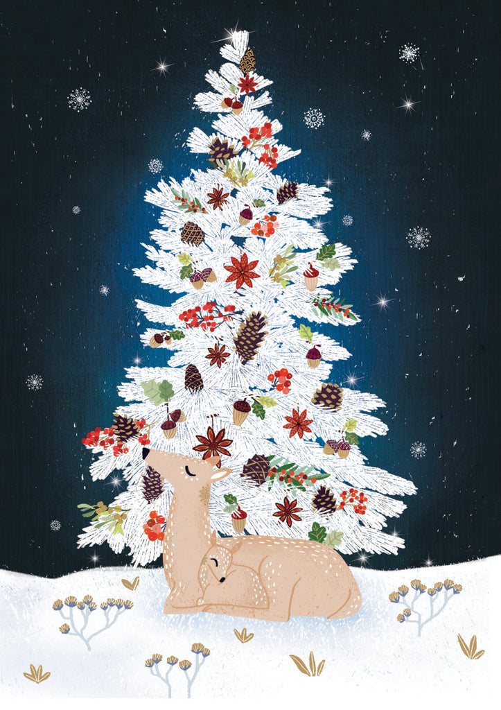 Roger la Borde Frosty Forest Standard card featuring artwork by Antoana Oreski