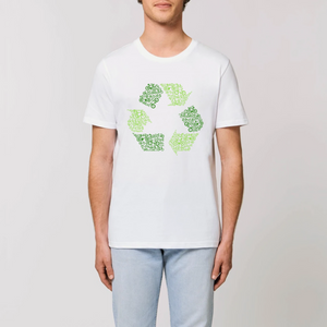 "T-shirt ""Cycles et recycle"""