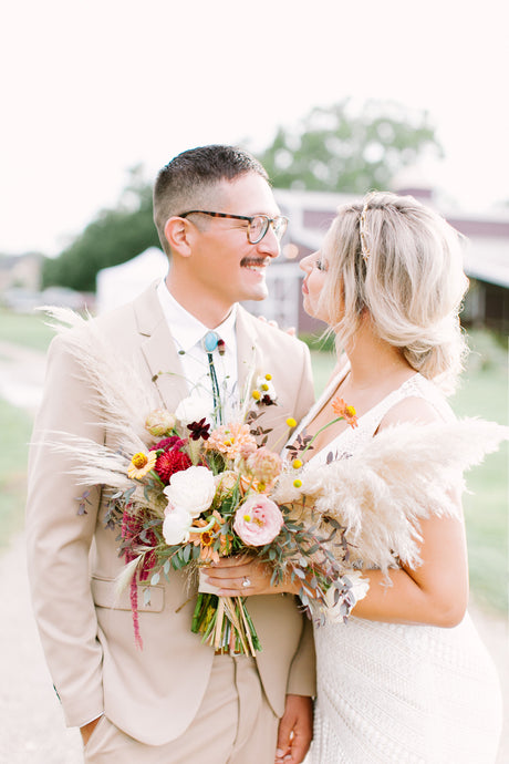 Modern Boho Wedding in South Houston, Texas