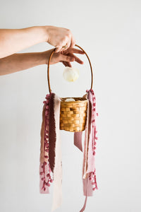 Basket with Petals