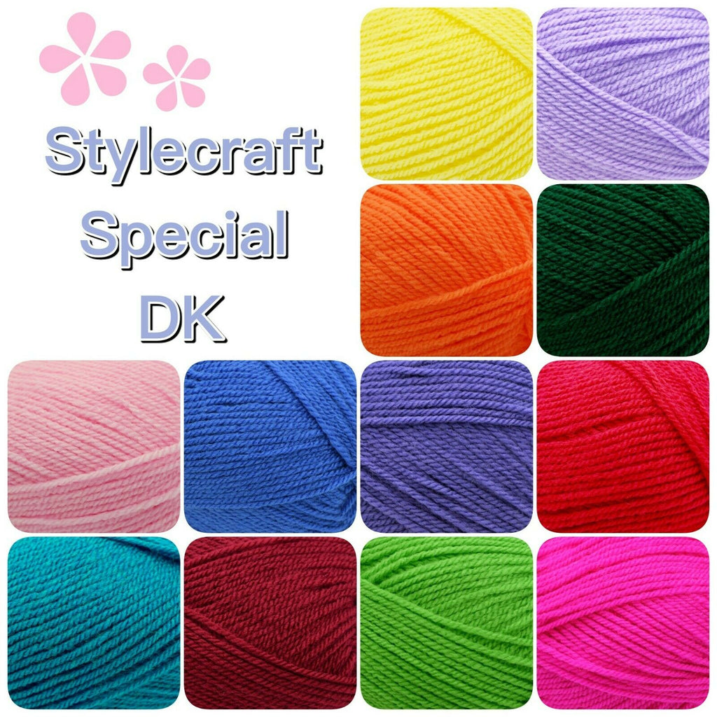 Stylecraft SPECIAL DK Double Knitting Premium Acrylic Crochet Yarn Wool 100g