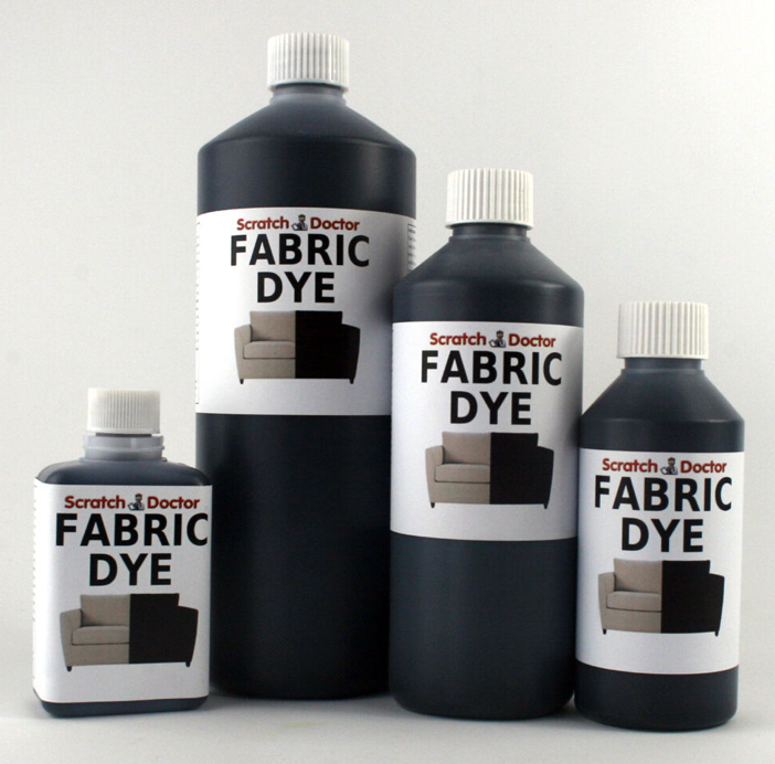 Liquid FABRIC DYE Various SIZES & COLOURS for Sofa, Clothes, Denim, Handbags etc