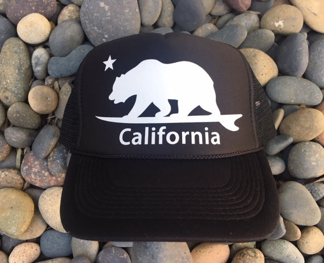 California Surf Bear® Trucker Hat