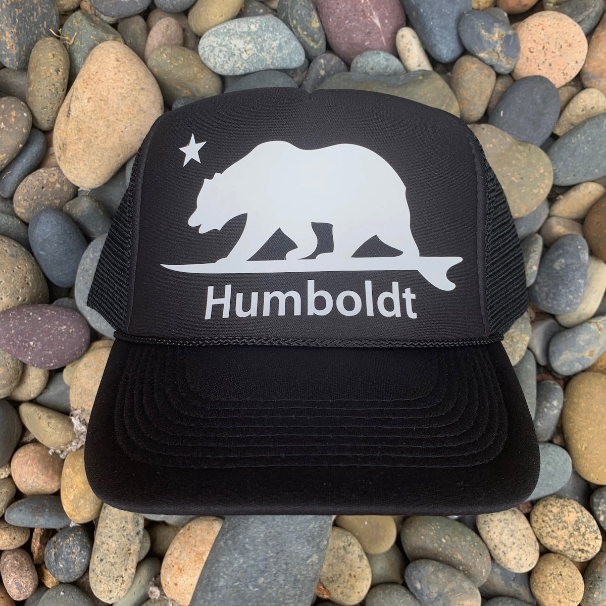 Humboldt Surfing Bear® Trucker Hat