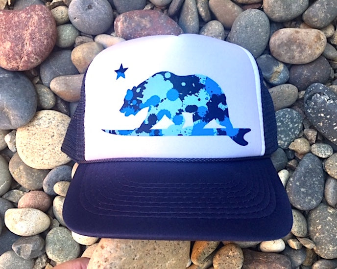Blue Camo Surf bear