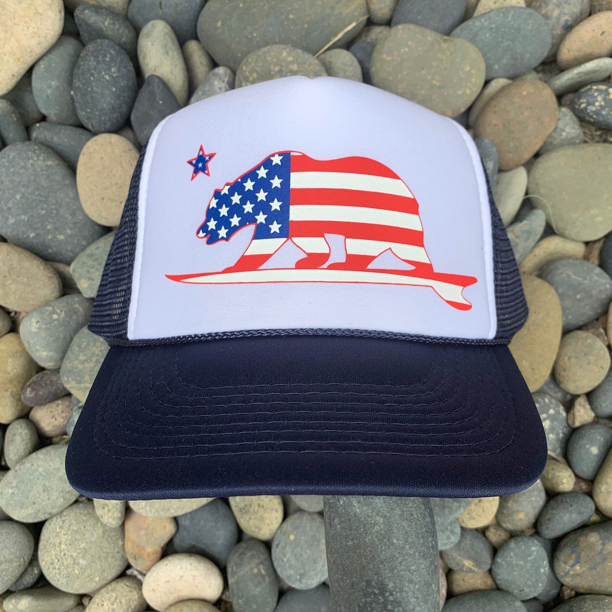 California American Surfbear® - Trucker Hat
