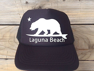 Laguna Beach surf bear