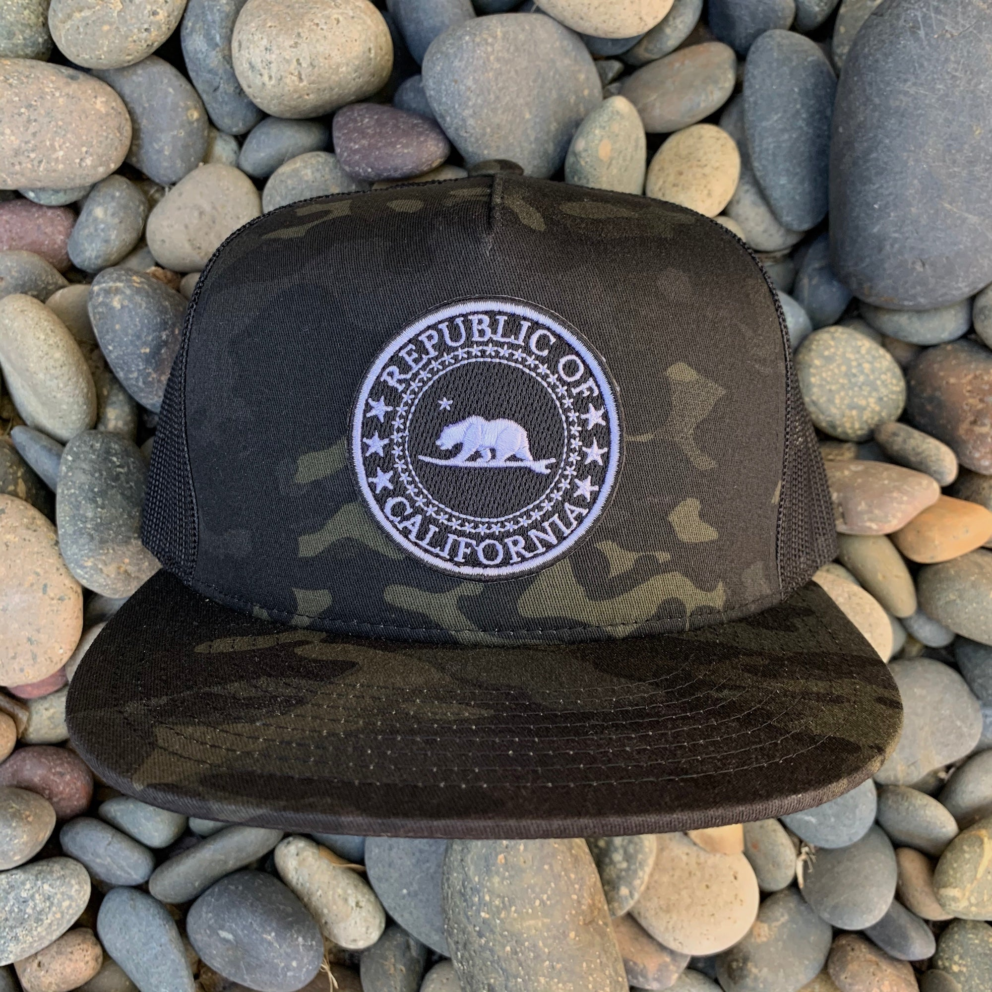 Republic of California - Black Camo