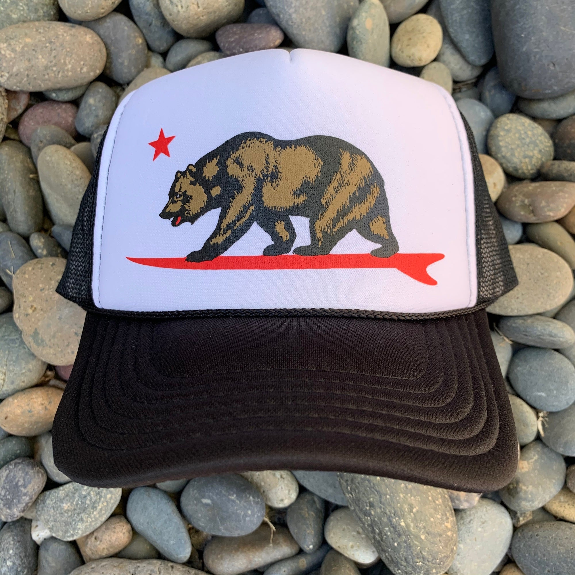 Rustic Surf Bear® - Trucker Hat