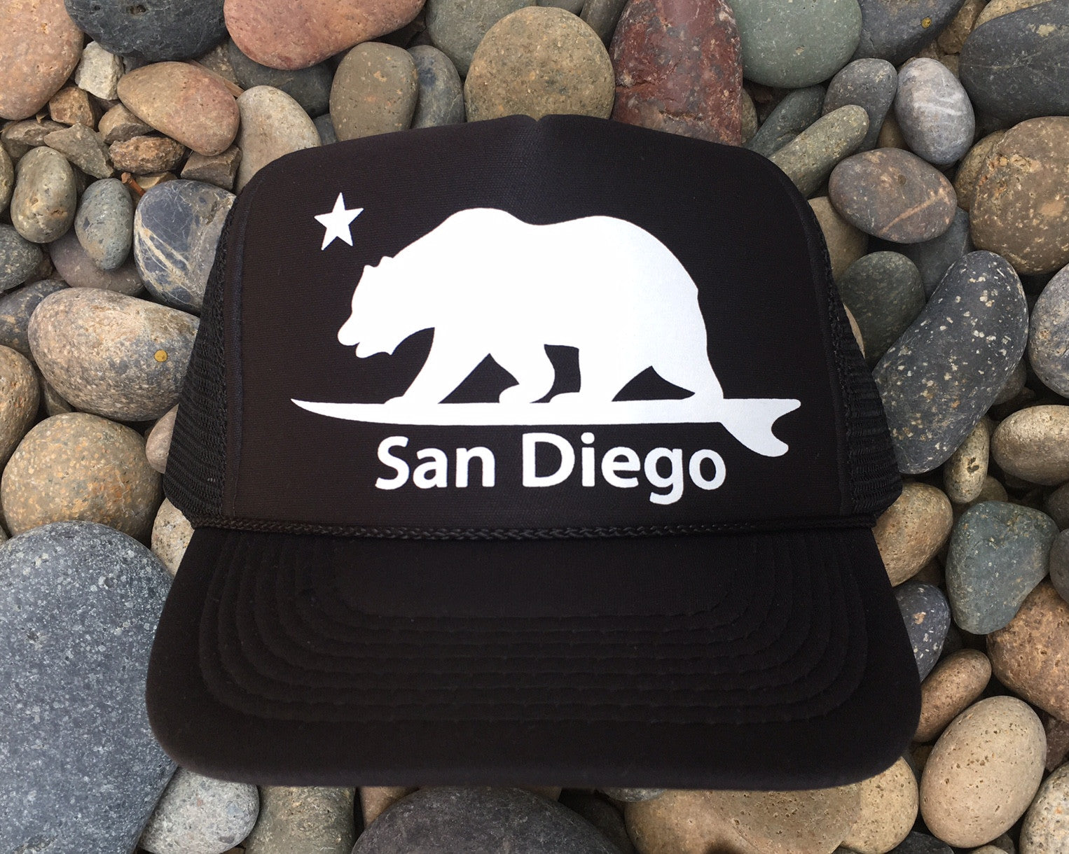 San Diego Surf Bear® Trucker hat