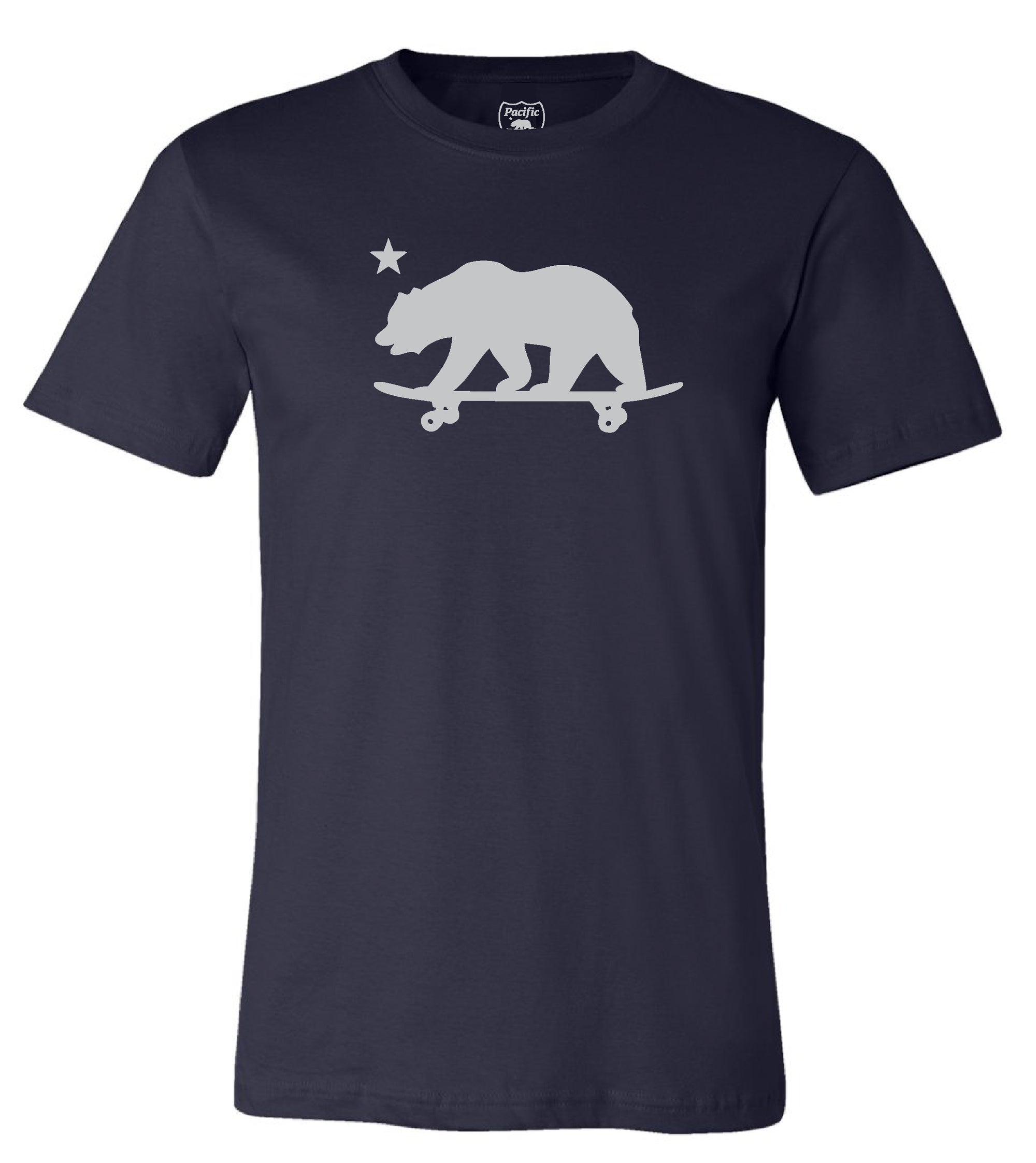 California Skateboarding Bear T-shirt