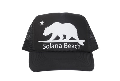 Solana Beach Surfing Bear