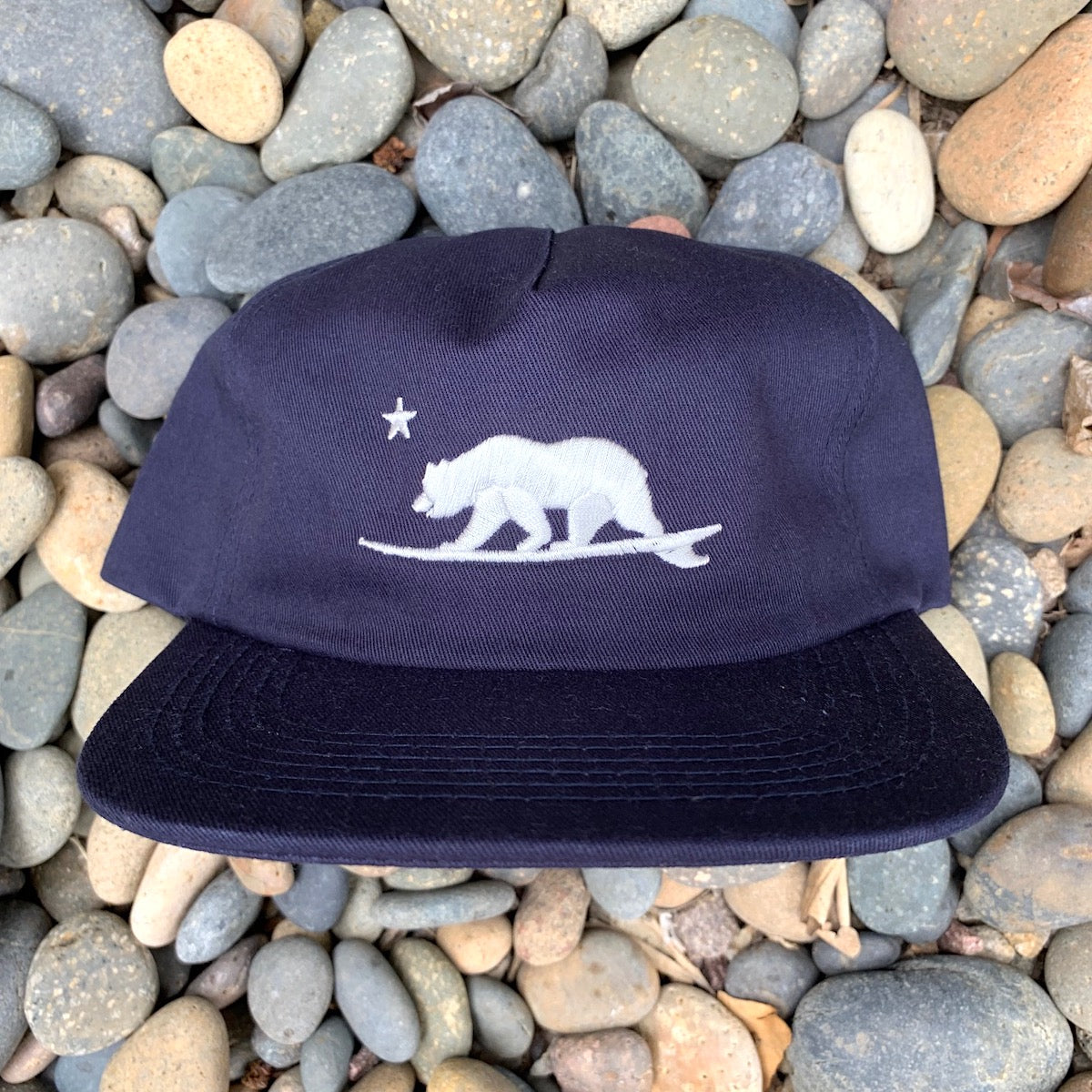 California Surf Bear® embroidered hat