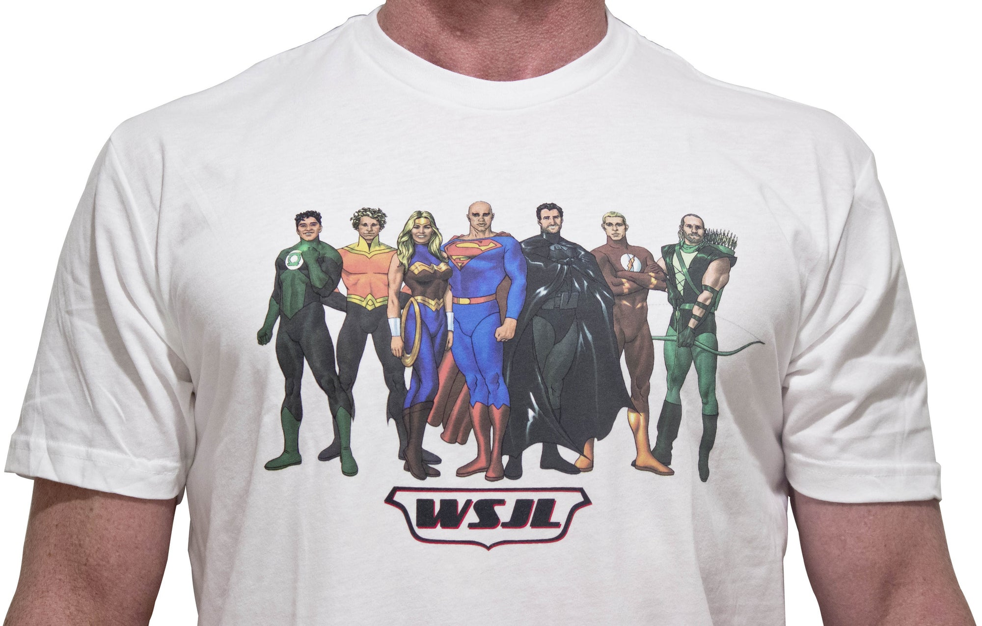 World Surfing Justice League T-shirt