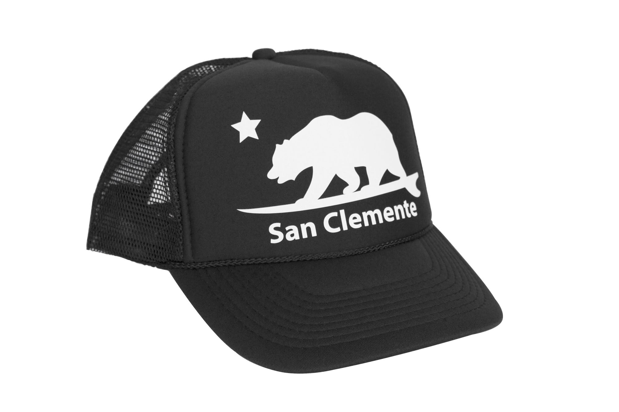 San Clemente Surf Bear® Trucker Hat