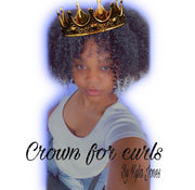 Crown for curls