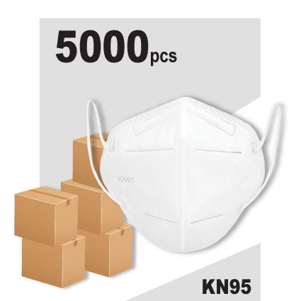 Essential KN95 Face Mask 5,000 Pack
