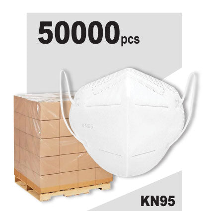Essential KN95 Face Mask 50,000 Pack