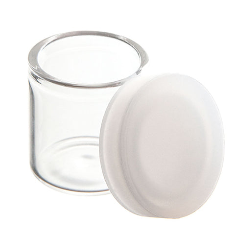 6ml Glass Concentrate Jars with Silicone Lid