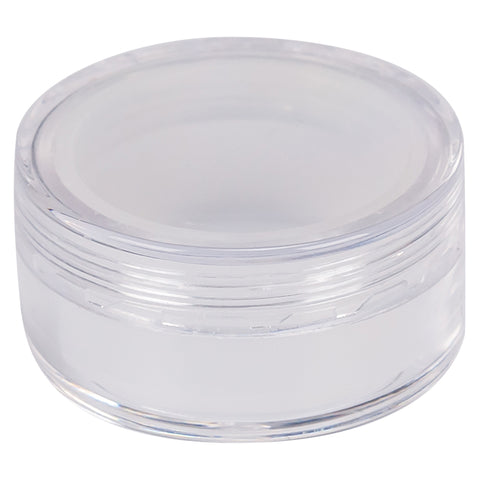 Acrylic Screw Top Concentrate Container with Silicone Insert 10ML
