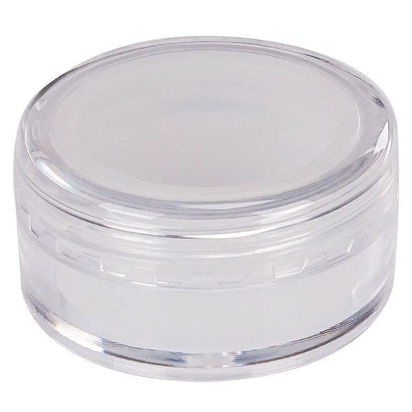 Acrylic Screw Top Concentrate Container with Silicone Insert 5ML