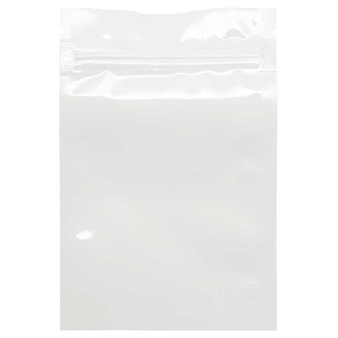 1 Gram Smell Proof Bags - White / White