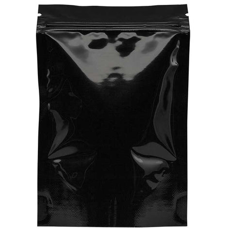 1/8oz Smell Proof Bags - Black / Black