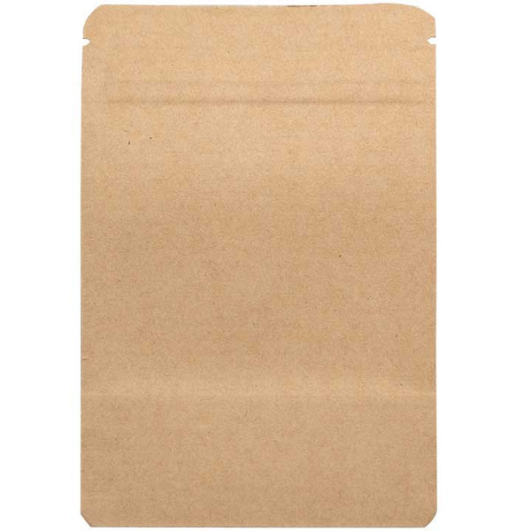 1/8oz Smell Proof Bags - Kraft / Kraft