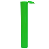 Child Resistant 109mm Green Pre-Roll Doob Tube