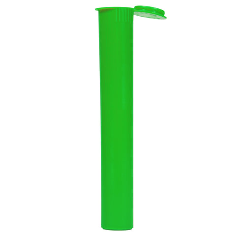 Child Resistant 109mm Green Cylinder Tube