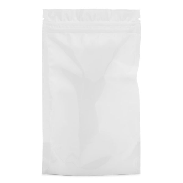 1/4oz - 7 Grams Mylar Bags - White / White