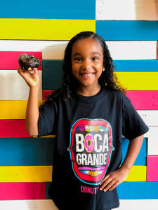 3. Boca Grande Kids T- Shirts (Black)