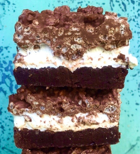 PB Crunch Brownie - Sweet Nita's
