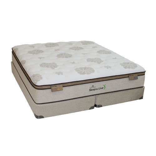 Sleep to live series 400 beds unlimited mattress stores for Beds unlimited