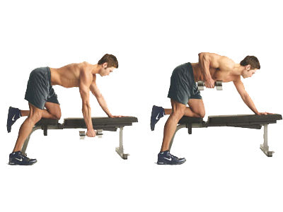 Workout with Weight Benches