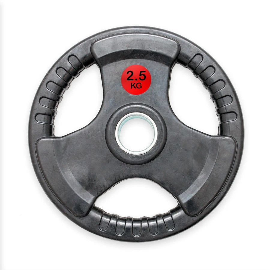 Pair of Rubber Trigrip Weight Plates - 2.5kg or 5kg (Pre Order for May 23rd) freeshipping - Fitness Equipment Dublin