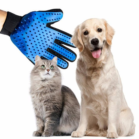 Pet Grooming Glove -  pets n stuff